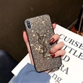 Classic Bling YSL Diamond Skin Cover Good Rhinestone Cases for Samsung Galaxy Note9 - Golden