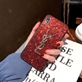Classic Bling YSL Diamond Skin Cover Good Rhinestone Cases for Samsung Galaxy Note9 - Red