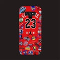 Classic NBA Supreme Skin Matte Covers Protective Back Cases For Samsung Galaxy Note9 - Red