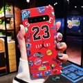Classic NBA Supreme Skin Matte Covers Protective Back Cases For Samsung Galaxy S10 - Red