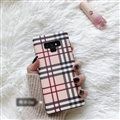 Classic Trellis Surface Cases For Samsung Galaxy Note9 Silicone Soft Covers - Pink
