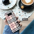 Classic Trellis Surface Cases For Samsung Galaxy S9 Silicone Soft Covers - Pink