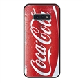 Coca-Cola Surface Lanyards Cases Shell For Samsung Galaxy S10E Silicone Soft Covers - Red