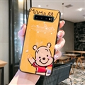 Cute Bear Surface Cases For Samsung Galaxy S10E Silicone Soft Covers - Yellow