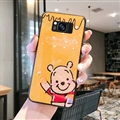 Cute Bear Surface Cases For Samsung Galaxy S8 Silicone Soft Covers - Yellow