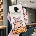 Cute Bear Surface Cases For Samsung Galaxy S9 Silicone Soft Covers - White
