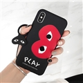 Eye Of Love Surface Cases For Samsung Galaxy Note9 Silicone Soft Covers - Black