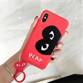 Eye Of Love Surface Cases For Samsung Galaxy Note9 Silicone Soft Covers - Red