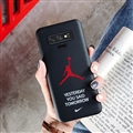 Fashion AJ Jordan Mirror Surface Cases Shell For Samsung Galaxy Note9 Silicone Soft Covers - Black