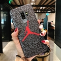 Fashion Jordan Surface Cases For Samsung Galaxy Note9 Silicone Soft Covers - Red