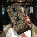 Fashion Jordan Surface Cases For Samsung Galaxy S10 Silicone Soft Covers - Black