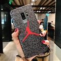 Fashion Jordan Surface Cases For Samsung Galaxy S10 Silicone Soft Covers - Red
