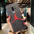Fashion Jordan Surface Cases For Samsung Galaxy S8 Silicone Soft Covers - Red
