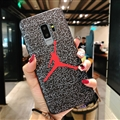 Fashion Jordan Surface Cases For Samsung Galaxy S9 Silicone Soft Covers - Red