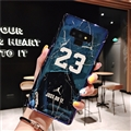 Fashion Stone Print Blue Light Mirror Surface Cases Shell For Samsung Galaxy Note9 Silicone Soft Covers - Blue