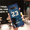 Fashion Stone Print Blue Light Mirror Surface Cases Shell For Samsung Galaxy S10E Silicone Soft Covers - Blue