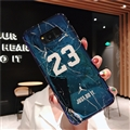 Fashion Stone Print Blue Light Mirror Surface Cases Shell For Samsung Galaxy S8 Silicone Soft Covers - Blue