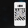 Gray Shoes Surface Cases Sports Shell For Samsung Galaxy S8 Silicone Soft Covers - White