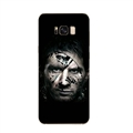 Messi Mirror Surface Lanyards Cases Shell For Samsung Galaxy S10 Silicone Soft Covers - Black