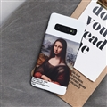 Originality Mona Lisa Skin Matte Covers Protective Back Cases For Samsung Galaxy S10 - White