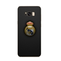 Real Madrid Bid Surface Cases For Samsung Galaxy S8 Silicone Soft Covers - Black
