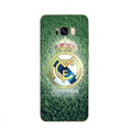 Real Madrid Bid Surface Cases For Samsung Galaxy S8 Silicone Soft Covers - Green