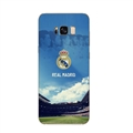 Real Madrid Bid Surface Cases For Samsung Galaxy S9 Silicone Soft Covers - Blue