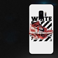 Red Shoes Surface Cases Sports Shell For Samsung Galaxy S9 Silicone Soft Covers - White
