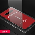 Rockets NBA Marble Aurora Laser Shell Glass Covers Protective Back Cases For Samsung Galaxy Note9 - Mcgrady Red