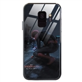 Spider Man Glass Mirror Surface Silicone Glass Covers Protective Back Cases For Samsung Galaxy S8 - 02