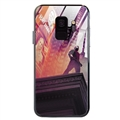 Spider Man Glass Mirror Surface Silicone Glass Covers Protective Back Cases For Samsung Galaxy S9 - 03