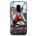 Spider Man Glass Mirror Surface Silicone Glass Covers Protective Back Cases For Samsung Galaxy S9 - 05