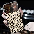 Spureme Leopard Print Monochrome Shell Glass Covers Protective Back Cases For Samsung Galaxy S9 - Black
