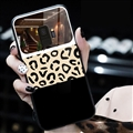 Spureme Leopard Print Tricolor Shell Glass Covers Protective Back Cases For Samsung Galaxy S9 - Black