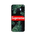 Supreme Banana Leaf Surface Cases For Samsung Galaxy S8 Silicone Soft Covers - Black