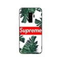 Supreme Banana Leaf Surface Cases For Samsung Galaxy S9 Silicone Soft Covers - White