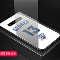 Thunder Okc NBA Marble Aurora Laser Shell Glass Covers Protective Back Cases For Samsung Galaxy Note9 - George White