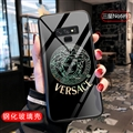 Versace Glass Mirror Surface Silicone Glass Covers Protective Back Cases For Samsung Galaxy Note9 - 01