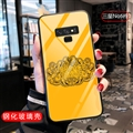 Versace Glass Mirror Surface Silicone Glass Covers Protective Back Cases For Samsung Galaxy Note9 - 02