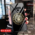 Versace Glass Mirror Surface Silicone Glass Covers Protective Back Cases For Samsung Galaxy Note9 - 03