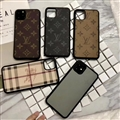 Classic Flower LV Protective Leather Back Covers Holster Cases For iPhone 11 - Grey
