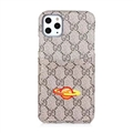 Classic Lattice Casing Gucci Leather Back Covers Holster Cases For iPhone 11 Pro- K3