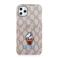 Classic Lattice Casing Gucci Leather Back Covers Holster Cases For iPhone 11 Pro- K4