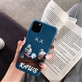 Cute Kaws Shell Matte Covers Protective Back Cases For iPhone 11 Pro - Blue