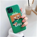 Cute Kaws Shell Matte Covers Protective Back Cases For iPhone 11 Pro - Green 02