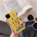 Cute Pokemon Shell Matte Covers Protective Back Cases For iPhone 11 Pro - Yellow