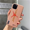 Nike Jordan Shell Matte Covers Shoes Back Cases For iPhone 11 Pro - Beige