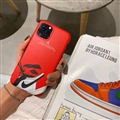 Nike Jordan Shell Matte Covers Shoes Back Cases For iPhone 11 Pro - Red