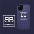 Unique Balenciaga Shell Matte Covers Protective Back Cases For iPhone 11 Pro - Blue