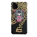 Unique Kenzo Shell Matte Covers Protective Back Cases For iPhone 11 Pro - Black